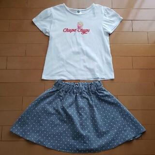 GU - Tシャツ&スカート
