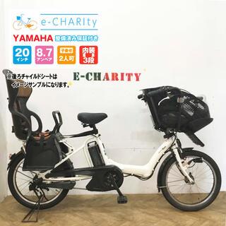 ヤマハ(ヤマハ)のKA097☆電動自転車☆YAMAHA パスキスミニ☆20インチ☆大容量バッテリー(自転車本体)