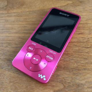SONY - SONY ウォークマン NW-S784 正規品 ビビットピンク ジャンク品