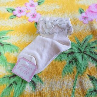 Shirley Temple - シャーリーテンプル♥ラメ&リボンソックス♥新品♥タグ付き♥16~18cm②