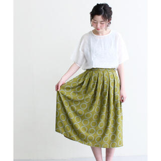 chambre de charme - chambre de charme しろつめ花輪春色タックスカート