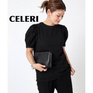 DEUXIEME CLASSE - 【CELERI/セルリ】PUFF Tシャツ ブラック パフTシャツ