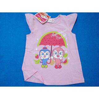 アンパンマン - 新品 95cm アンパンマン DKスイカの傘半袖Tシャツ ライトピンク