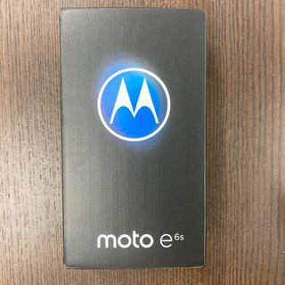 Motorola - モトローラMotorola moto e6s 2GB 32GB simフリー