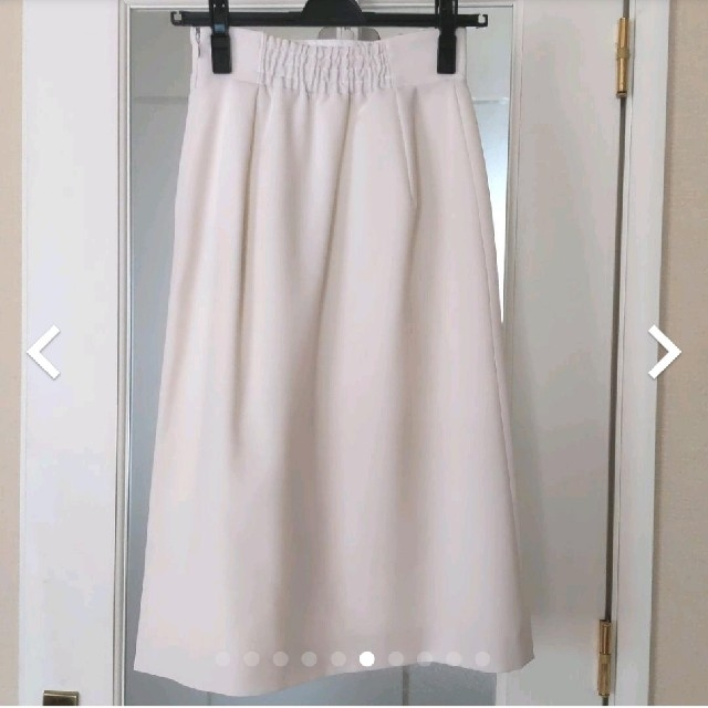 Apuweiser-riche(アプワイザーリッシェ)の【タグ付未使用】アプワイザーリッシェ☆2wayラップ風ジャンス レディースのスカート(ひざ丈スカート)の商品写真