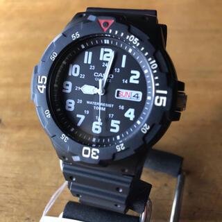 CASIO - 【新品】カシオ CASIO ダイバールック 腕時計 MRW-200H-1B
