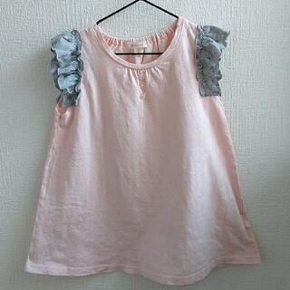 半袖Tシャツ チュニック女の子130cm