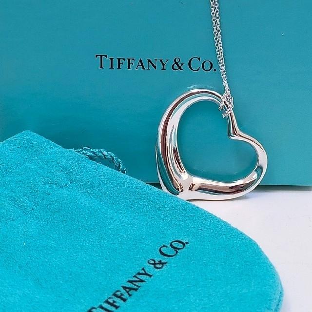 Tiffany & Co.(ティファニー)のみか様専用 ティファニー XLオープンハートロングチェーンネックレス レディースのアクセサリー(ネックレス)の商品写真