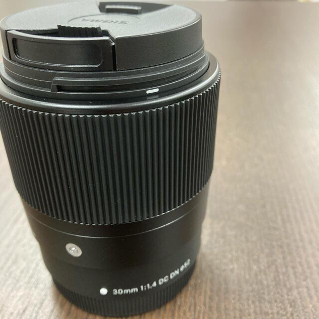 Canon(キヤノン)のれいママ様 SIGMA 30mm F1.4 DC DN  EF-M スマホ/家電/カメラのカメラ(レンズ(単焦点))の商品写真
