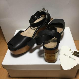 ジェーンマープル(JaneMarple)のJane Marple ジェーンマープル 25周年 ウッドソール サンダル 靴(サンダル)