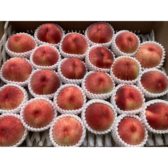 山形県産 減農薬栽培 桃 ご家庭用 2キロ以上 食品/飲料/酒の食品(フルーツ)の商品写真