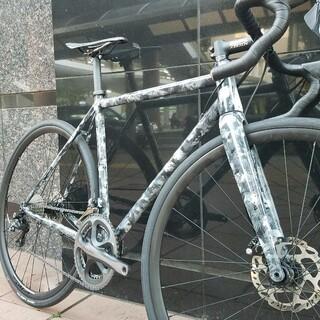 日本国内1台のみの ディスク disk ロードバイク 新品フレーム(自転車本体)