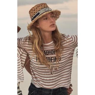 Christian Dior - ディオール 2020ラフィア帽