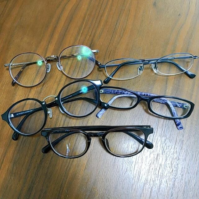 メガネたくさん レディースのファッション小物(サングラス/メガネ)の商品写真