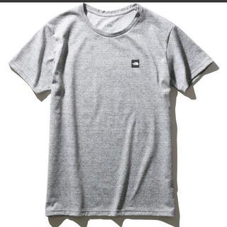 THE NORTH FACE - ノースフェイス スモールボックスロゴティー tシャツ グレー 半袖 灰 m