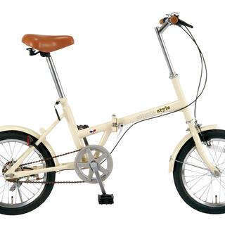 KCD FOLDING BICYCLES 折りたたみ式自転車 16型 モデル(自転車本体)