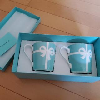 Tiffany & Co. - ティファニー ブルーボックス マグカップ