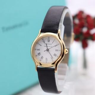 Tiffany & Co. - 箱付き【新品電池】Tiffany& Co./PORTFOLIO 動作良好 美品