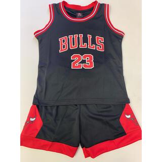 サイズ2XS ブルズ ジョーダン 子供バスケユニフォーム(Tシャツ/カットソー)
