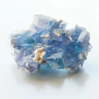 ヤオガンシャン ブルーフローライト GE-361 天然石 原石 鉱物 鉱石 蛍石