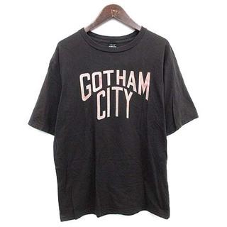 ナンバーナイン(NUMBER (N)INE)のナンバーナイン GOTHAMCITY Tシャツ ヴィンテージ加工 チャコール(Tシャツ/カットソー(半袖/袖なし))