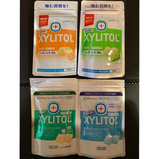キシリトール100%ガム 歯科専用 4種4袋
