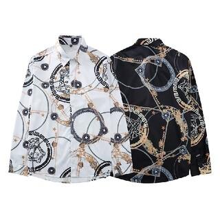 ☆シャツ在庫処分☆2枚14000円☆Versace☆(ヴェルサーチ)新品☆長袖