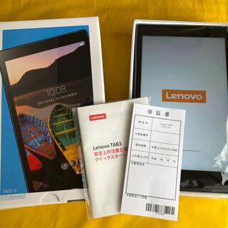 ANDROID - タブレット Lenovo TAB3 8 ブラック SoftBank