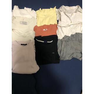 ユニクロ(UNIQLO)のレディース トップス 10着 まとめ売り(セット/コーデ)