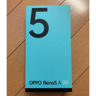 oppo  Reno5 A  SIMフリー デュアルシム 回線開通作業のみ