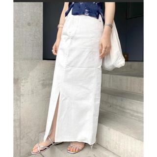 美品♡︎ SHENERYシーナリーカットオフデニムタイトマキシスカート