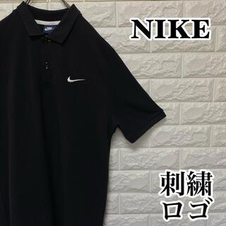 ナイキ(NIKE)の【NIKE】ワンポイント刺繍ロゴ ビッグサイズ 半袖ポロシャツスウッシュ ナイキ(ポロシャツ)