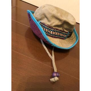 マザウェイズ(motherways)のこども 帽子 54㎝ あごヒモ付き (帽子)