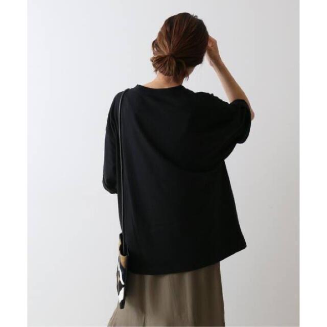 FRAMeWORK(フレームワーク)のフレームワーク 【WEB限定】BIGロゴT ブラック レディースのトップス(Tシャツ(半袖/袖なし))の商品写真
