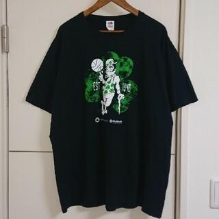 NBA セルティックス Tシャツ 古着 ビッグシルエット マスコットキャラ