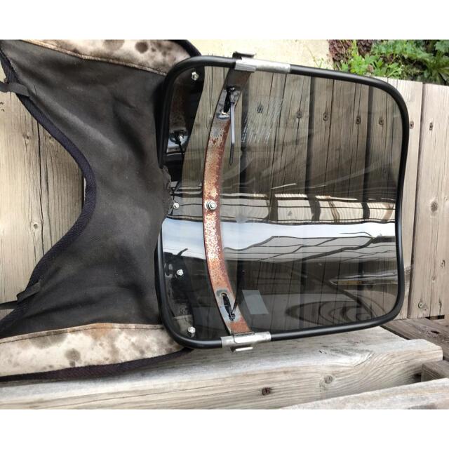 アサヒ(アサヒ)のアサヒ風防‼️ヤラレ仕様‼️ 自動車/バイクのバイク(パーツ)の商品写真