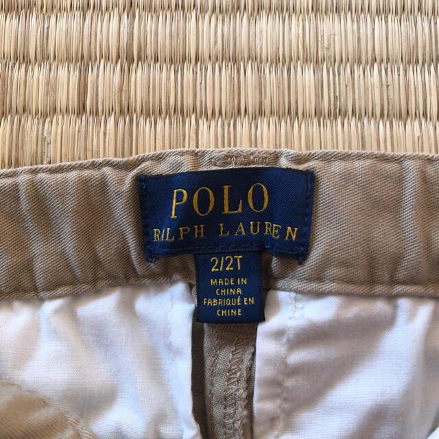 POLO RALPH LAUREN(ポロラルフローレン)のハーフパンツ キッズ/ベビー/マタニティのキッズ服男の子用(90cm~)(パンツ/スパッツ)の商品写真