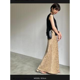 nuna - ヌナ 【新品未使用】タグ付き フレアロングスカート