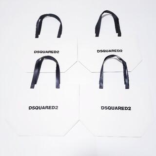 ディースクエアード(DSQUARED2)のDSQUARED2 ディースクエアード ショップ袋 ショッパー 4点セット(ショップ袋)