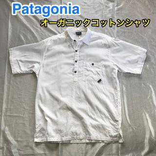 patagonia - ☆Patagonia オーガニックコットン 半袖シャツ 表記S 普段L位の方に