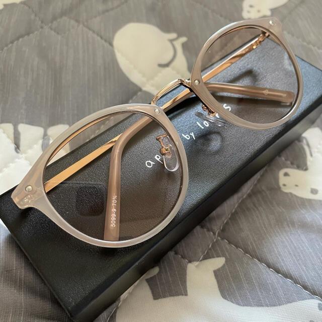 apart by lowrys(アパートバイローリーズ)の未使用 アパートバイローリーズ サングラス ベージュ レディースのファッション小物(サングラス/メガネ)の商品写真