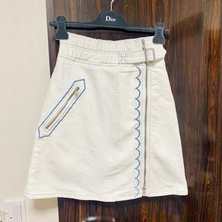 シーバイクロエ(SEE BY CHLOE)の着画あり★スカート xs(ひざ丈スカート)