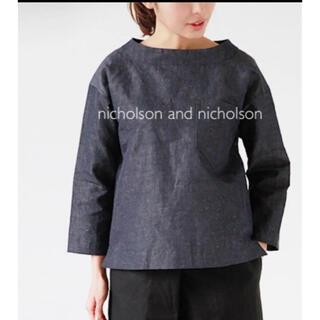 nest Robe - 美品 ニコルソンアンドニコルソン シャツ ブラウス カットソー リネン