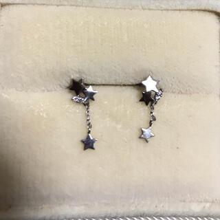 STAR JEWELRY - スタージュエリー☆プラチナ ダイヤモンド ピアス