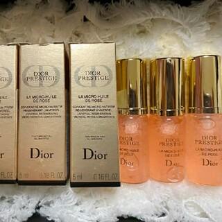 Christian Dior - プレステージ ユイルドローズ セラム ディオール 美容液 15ml