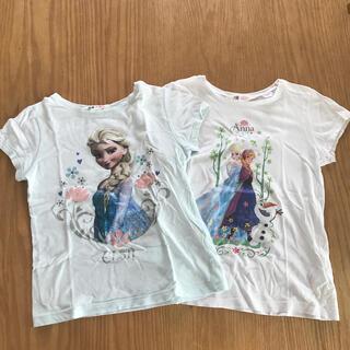 H&M - H&M アナ雪・エルサTシャツ2枚
