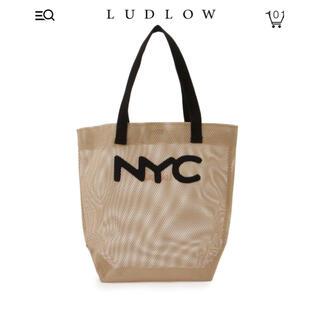 LUDLOW - 【新品】LUDLOW ラドロー メッシュトート ベージュ