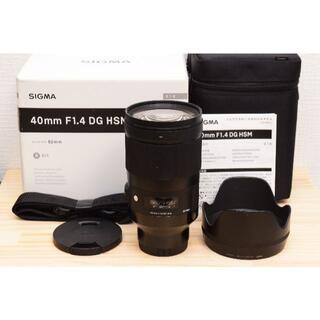 シグマ(SIGMA)のG28 /シグマ 40mm F1.4 ソニー Eマウント用 /3449-45(レンズ(単焦点))
