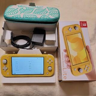 Nintendo Switch - Nintendo Switch light 本体 イエロー
