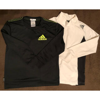アディダス(adidas)のadidas スポーツウエアー 長袖 2点セット(Tシャツ/カットソー)